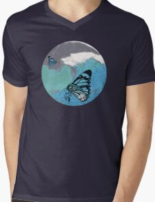 The Butterfly Effect Mens V-Neck T-Shirt