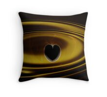 Ripples of the Heart Throw Pillow