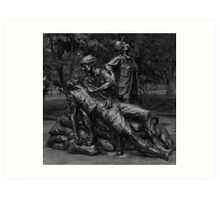 Vietnam Nurse's Memorial Art Print