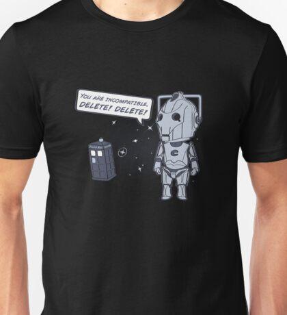 Delete! Unisex T-Shirt