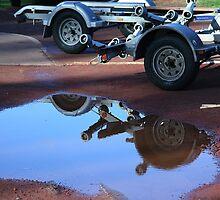 Trailer wheels by Maggie Hegarty