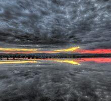 Long Jetty Sunset by Jason Ruth