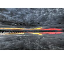 Long Jetty Sunset Photographic Print