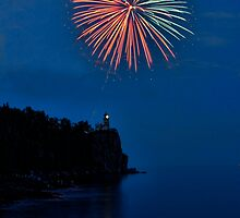 Split Rock Lighthouse Centennial 2010 by by M LaCroix