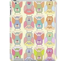 Baby illustration with owls iPad Case/Skin