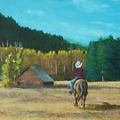 Back to the Barn by Gene Ritchhart