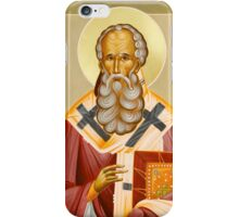 St Athanasios the Great iPhone Case/Skin