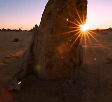 Sunburst Pinnacle by Suze Chalmers