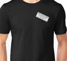 Care Instructions - Coffee Unisex T-Shirt