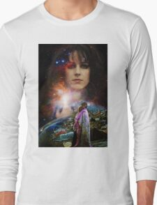 Woodstock Chasing Rabbits  Long Sleeve T-Shirt