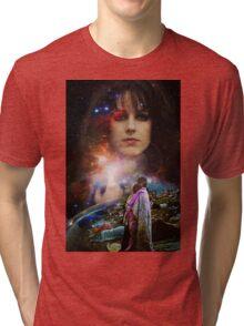 Woodstock Chasing Rabbits  Tri-blend T-Shirt