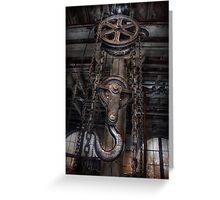 Steampunk - Industrial Strength Greeting Card