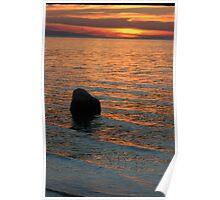 Lake Michigan Pastels Poster