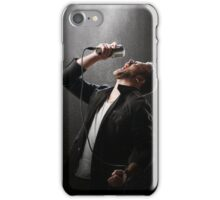 Male Singer performing iPhone Case/Skin