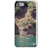 Swimming In The Green iPhone Case/Skin