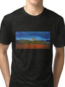 Stone Cottage, Ireland Tri-blend T-Shirt