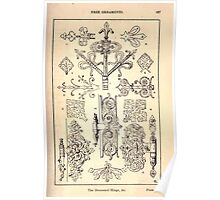 A Handbook Of Ornament With Three Hundred Plates Franz Sales Meyer 1896 0203 Free Ornaments Decorated Hinge Poster