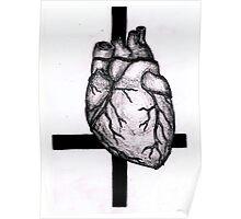 Satanic Heart Poster
