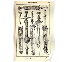 A Handbook Of Ornament With Three Hundred Plates Franz Sales Meyer 1896 0411 Metal Objects Dagger Scabbard Poster