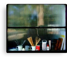 Window of preparedness Canvas Print