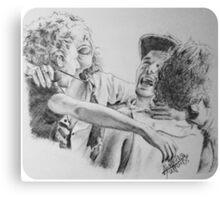 One Direction hug Canvas Print