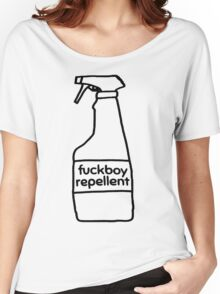 Fuckboy Repellent [Black] Women's Relaxed Fit T-Shirt