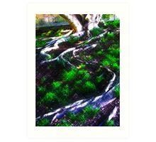 Advancing tree Art Print