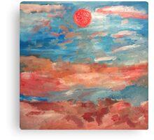 Seaside Landscape Canvas Print