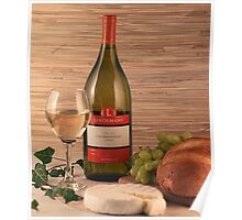 Bread, Wine and Cheese Poster