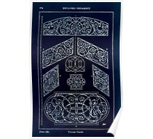 A Handbook Of Ornament With Three Hundred Plates Franz Sales Meyer 1896 0290 Enclosed Ornament Various Panel Inverted Poster
