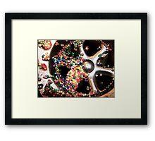 wasted sprinkles Framed Print