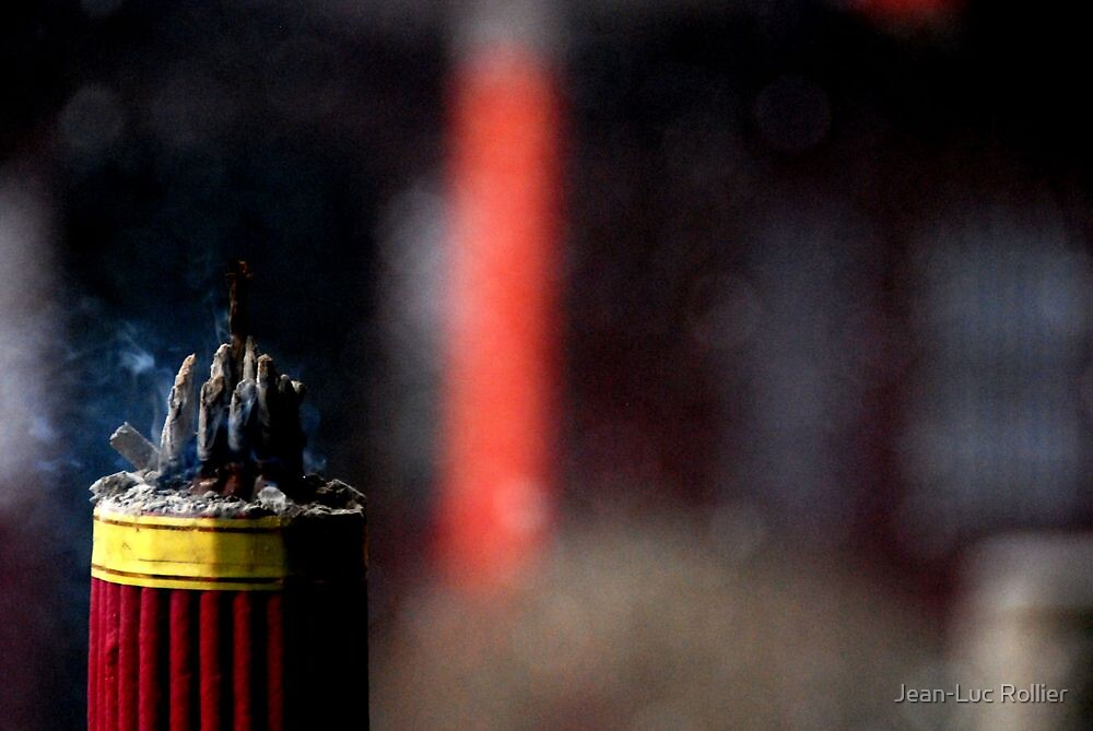 Ping Yao - Incense. by Jean-Luc Rollier