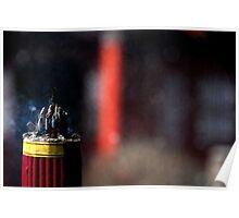 Ping Yao - Incense. Poster