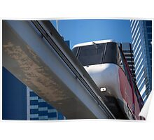 Sydney Monorail Darling Harbour Poster