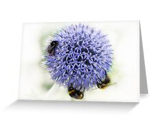 We three bees....... Greeting Card