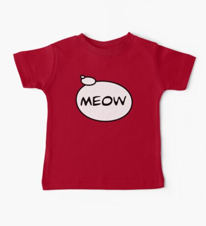 MEOW by Bubble-Tees.com Baby Tee