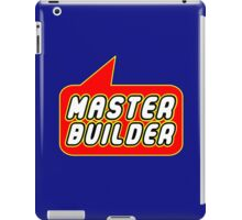 Master Builder, Bubble-Tees.com iPad Case/Skin