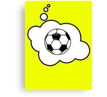 Soccer Ball by Bubble-Tees.com Canvas Print
