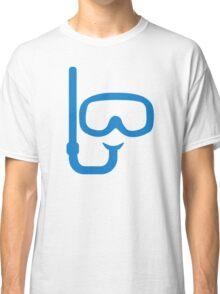 Snorkel diving goggles Classic T-Shirt