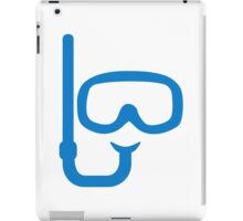 Snorkel diving goggles iPad Case/Skin