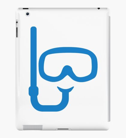 Snorkel diving goggles iPad Case/Skin