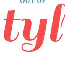 STYLE (colored) Sticker