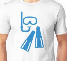 Snorkeling equipment Unisex T-Shirt