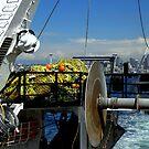 Departure ~ Seattle WA ~ Commercial Fishing Vessel by lanebrain photography