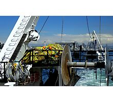 Departure ~ Seattle WA ~ Commercial Fishing Vessel Photographic Print