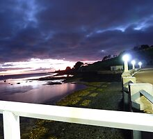 Eastern Beach light show by Davegazzard