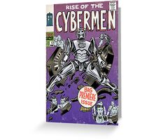 Rise of the Cybermen Greeting Card