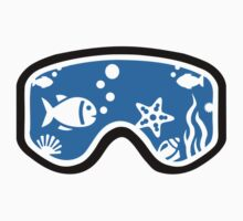 Diving goggles One Piece - Short Sleeve