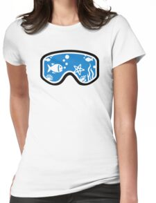 Diving goggles Womens Fitted T-Shirt
