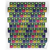 GAMEBOY COLORS PRINT Poster